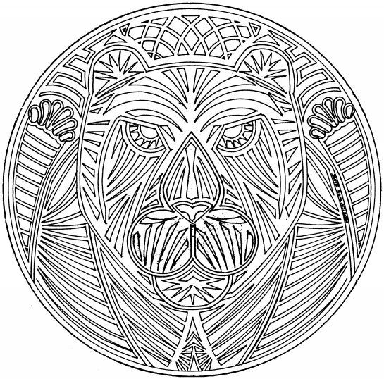 Free Intricate Mandalas Coloring Pages Intricate Mandala Coloring Pages