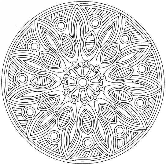 Mandalas pour cacillia - Mandala a colorier a imprimer ...