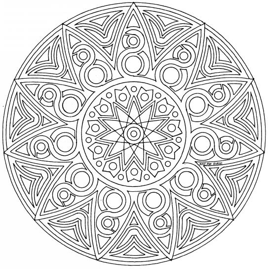 Mandalas pour cacillia - Mandalas cycle 3 ...